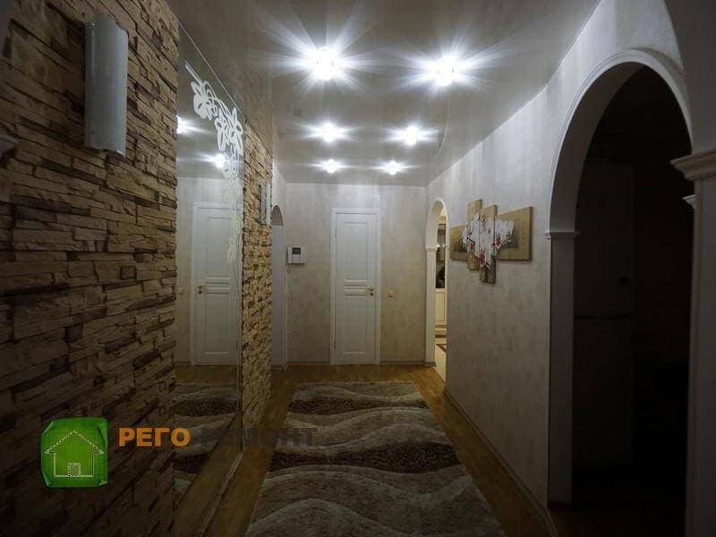 Смета на ремонт: 2 комнатная квартира, 61 кв м, 1мг-601